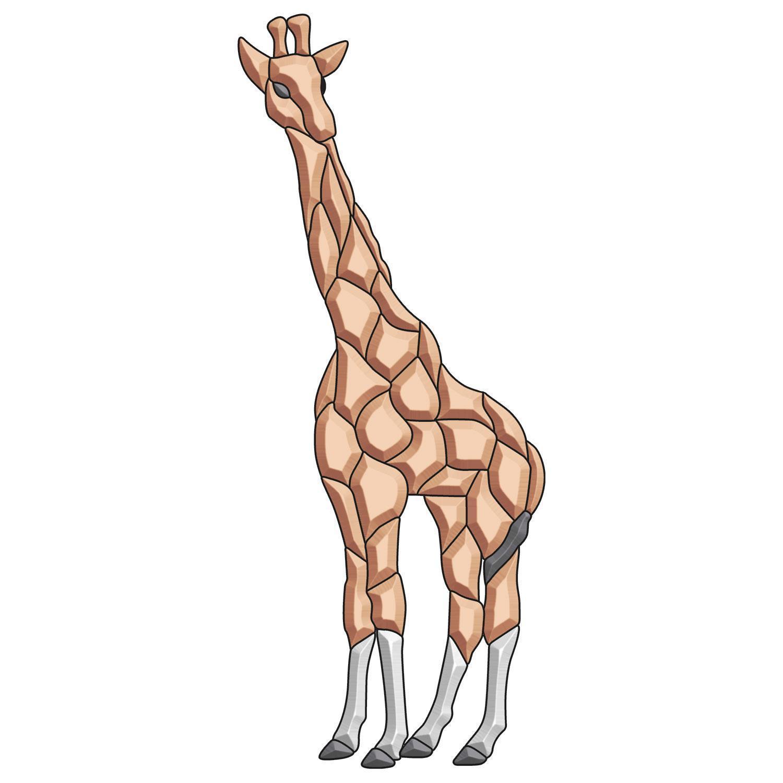 Giraffe Bevel Cluster