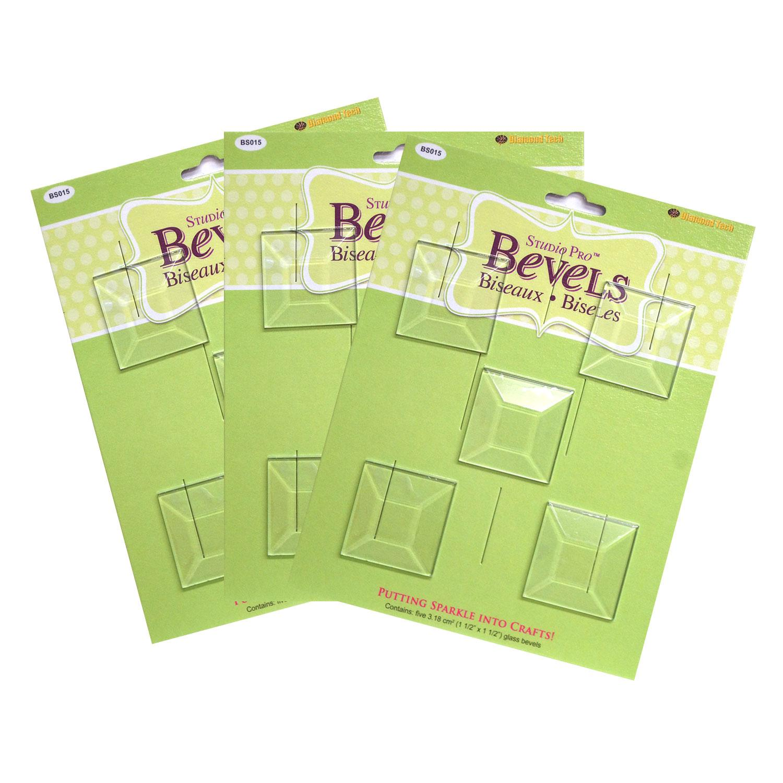 1-1/2 Square Bevel - 15 pack