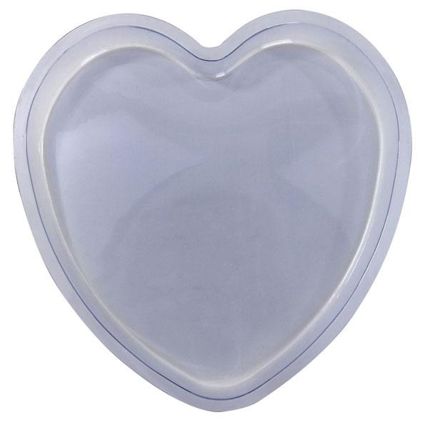 9 Heart Stepping Stone Mold