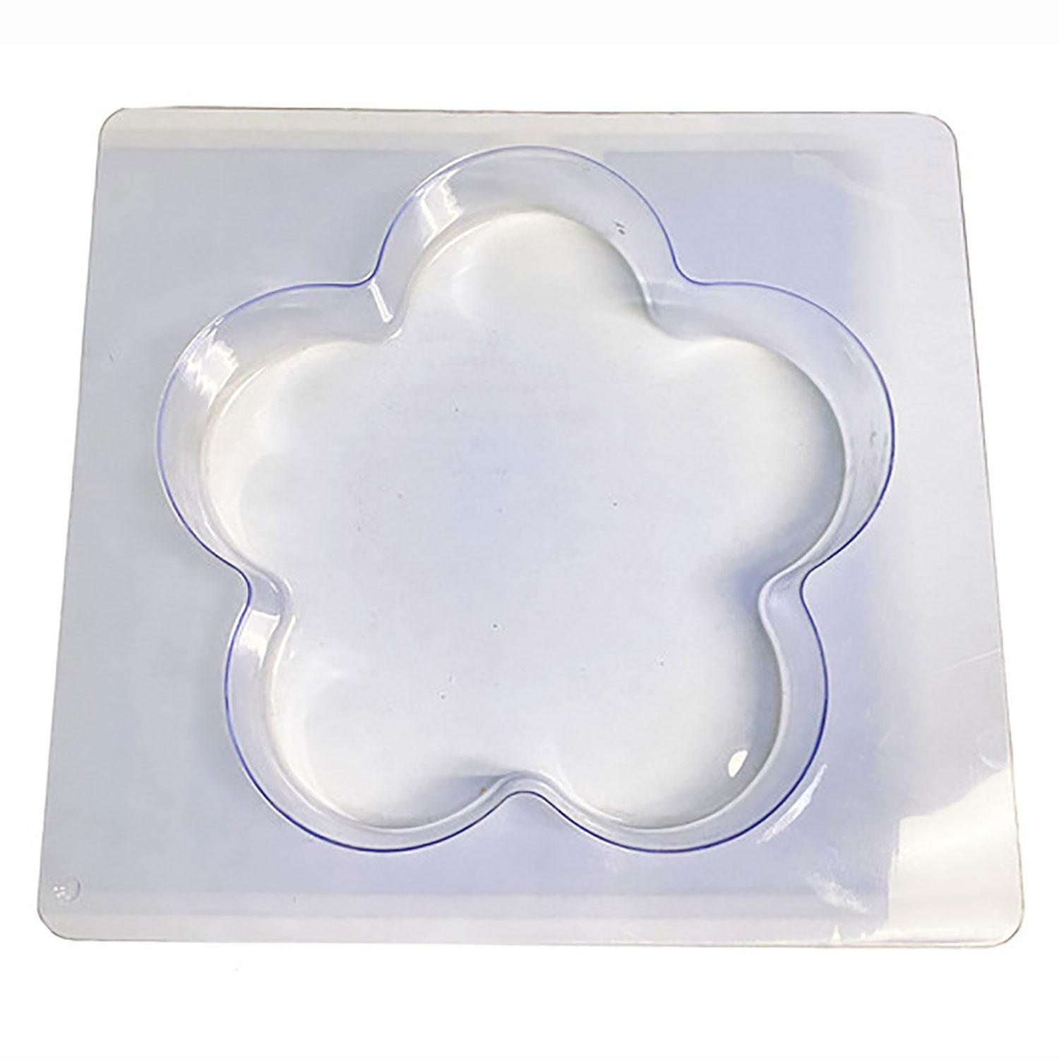8 Flower Stepping Stone Mold