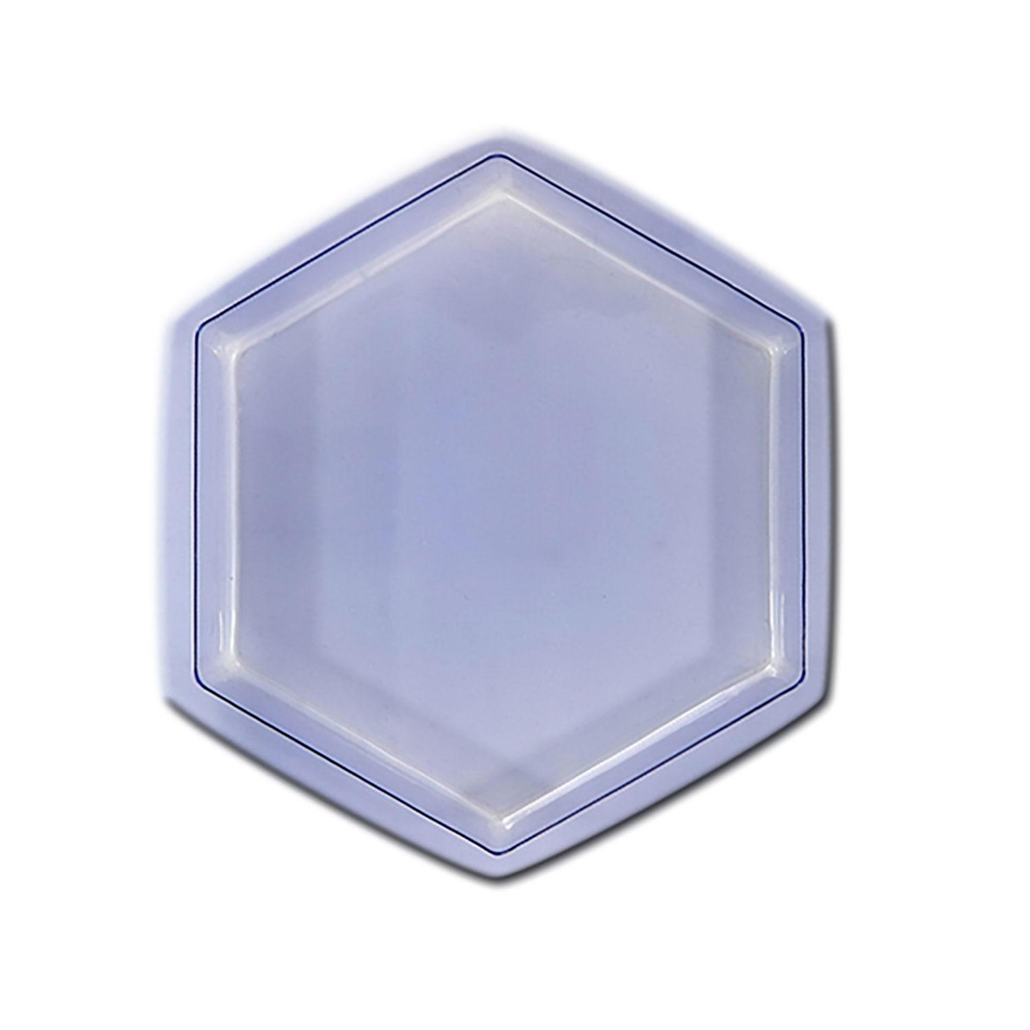 8 Hexagon Stepping Stone Mold