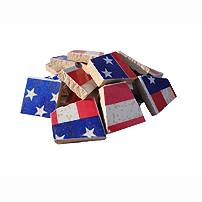 American Flag Ceramic Tile - 1 Lb