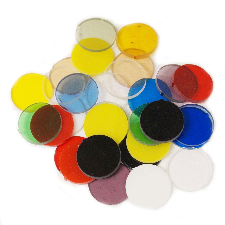 Fuseworks 1 Circles Assortment 1/4 lb - 90 COE