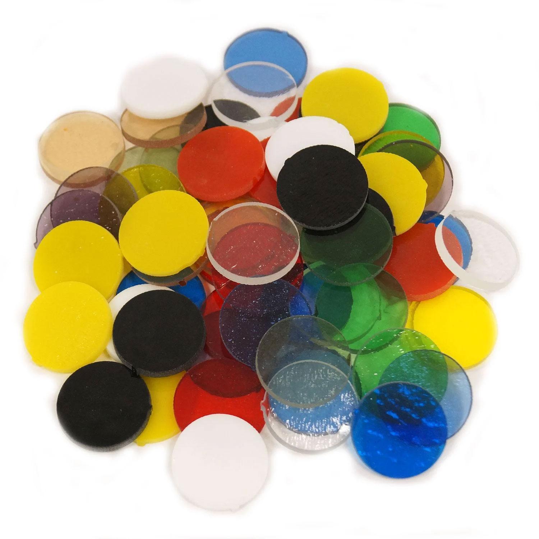 1/2 lb Fuseworks 1 Circles Assortment - 90 COE