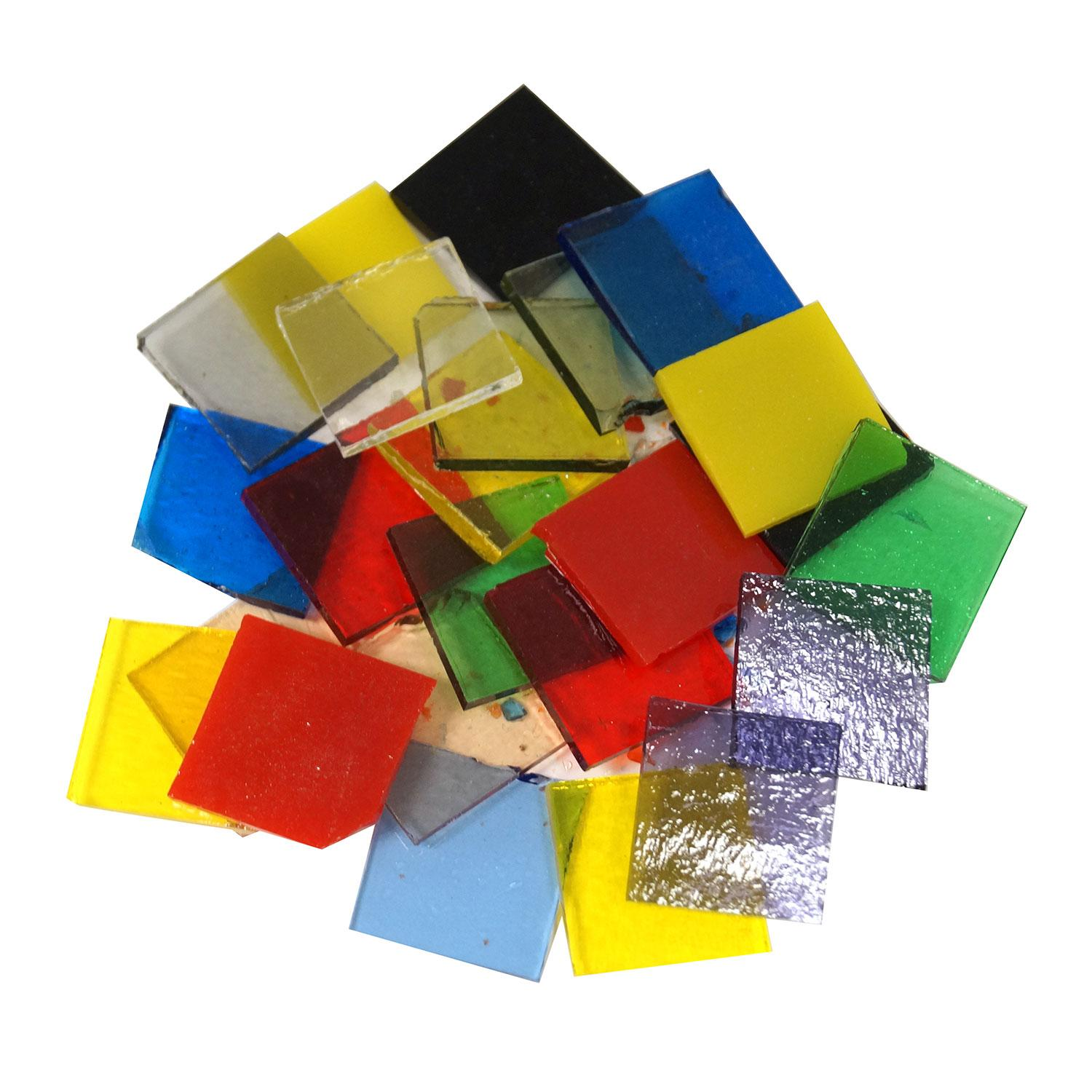 4 Pack 4 Black Glass Fusible Squares 90 COE ON Sale
