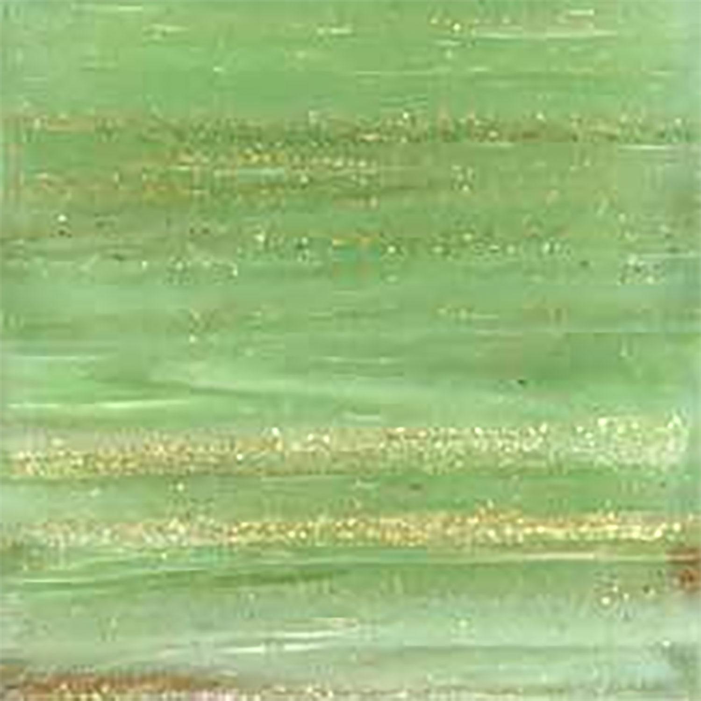 3/4 Jade Metallic Venetian Tiles - 1 Lb