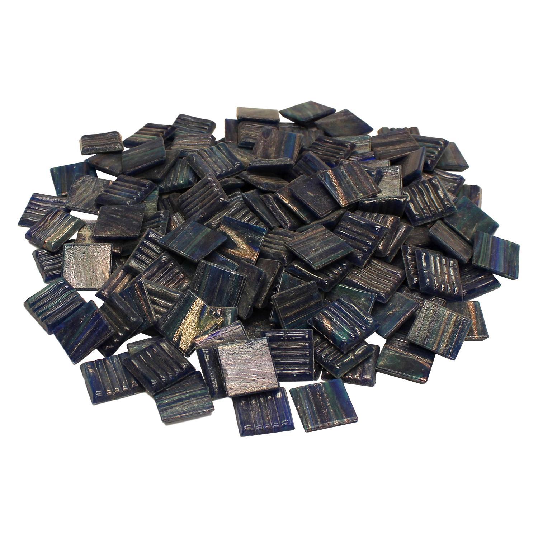 3/4 Blue Spruce Pine Metallic Tiles - 1 Lb