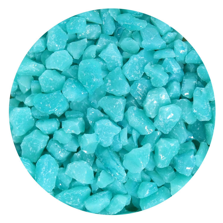 16 Oz Turquoise Opal Coarse Frit - 90 COE