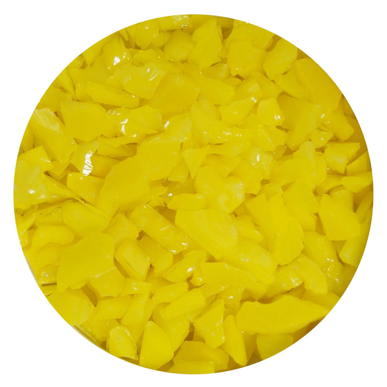 16 Oz Marigold Opal Coarse Frit - 90 COE
