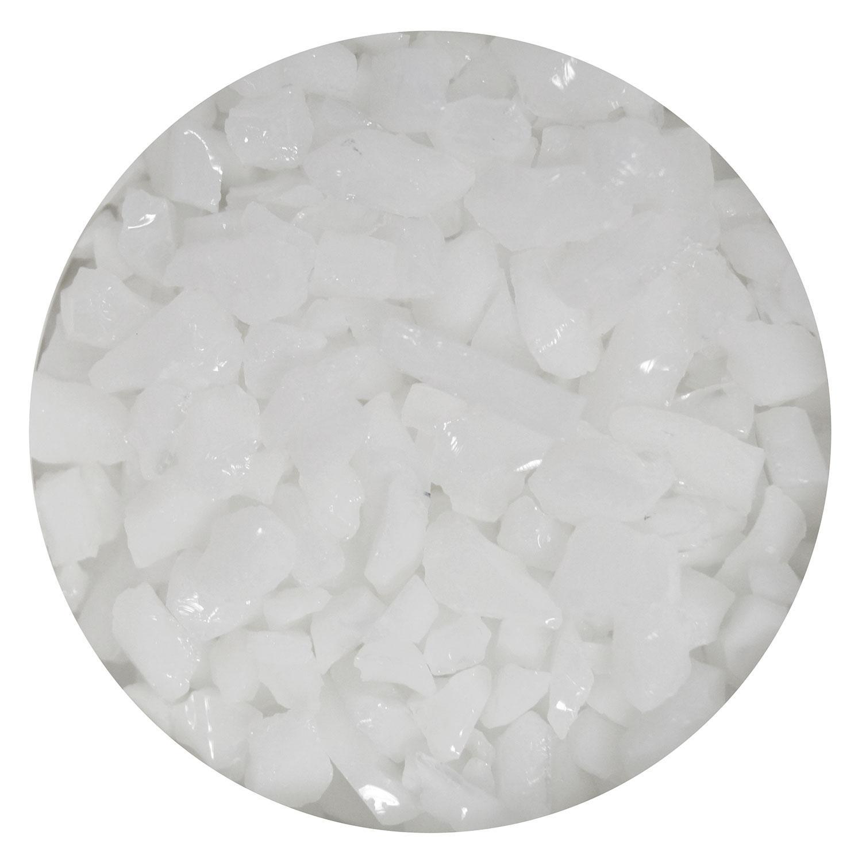16 Oz White Opal Coarse Frit - 90 COE