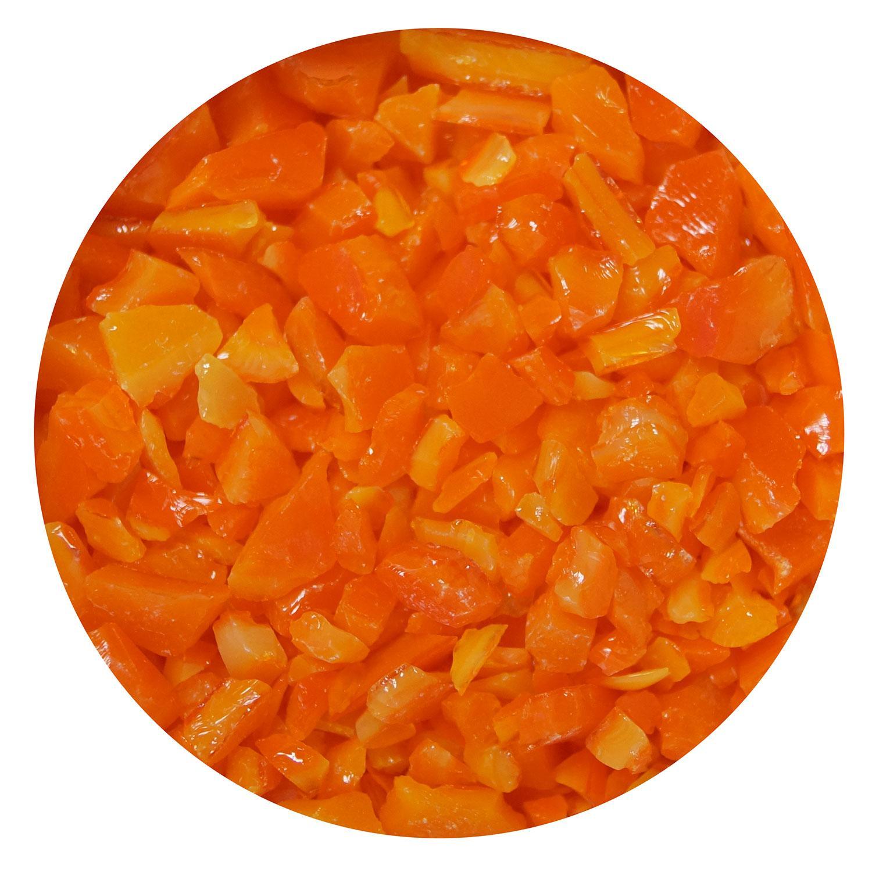 16 Oz Orange Opal Coarse Frit - 90 COE