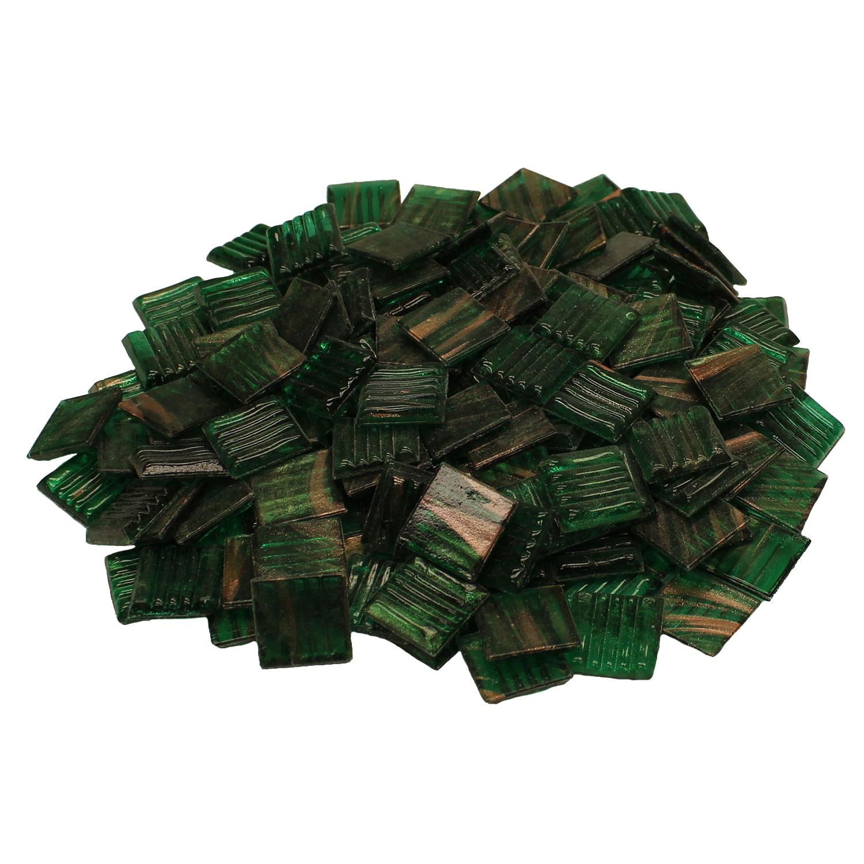 3/4 Pine Weave Metallic Venetian Tiles - 1 Lb