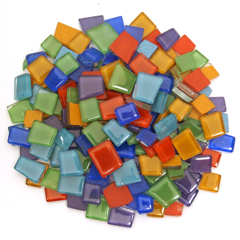 Crafter's Cut Solid Tiles Mix - 1 Lb