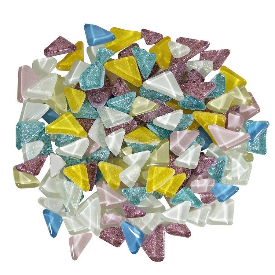 Cobblestone Lights Glass Gems - 1 Lb