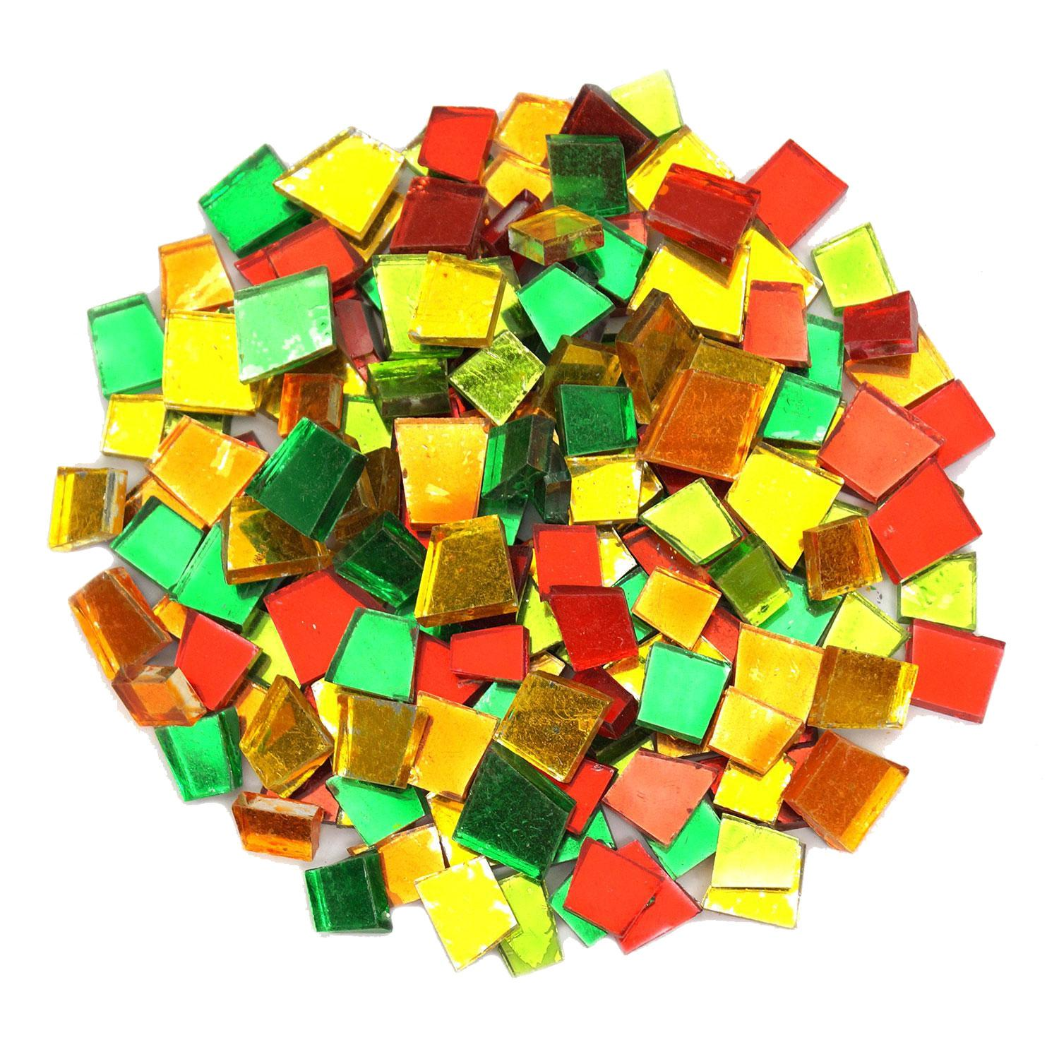 Crafter's Cut Mirror Tile Mix - 1 Lb