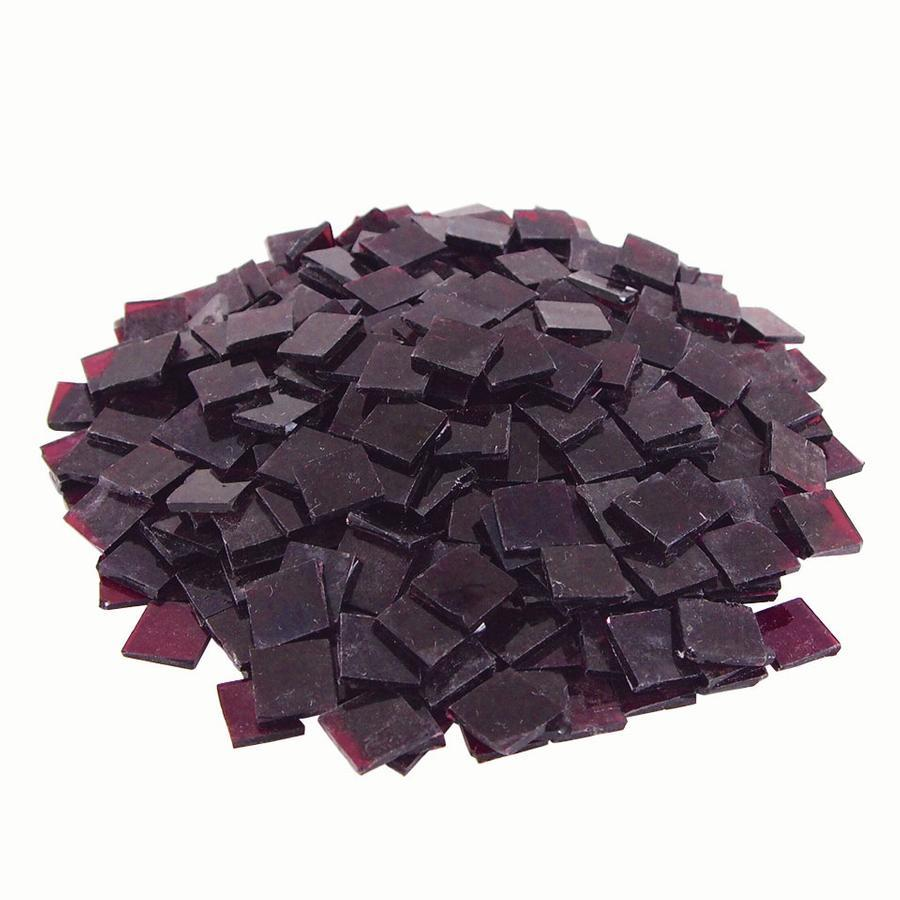 3/4 Purple Transparent Stained Glass Chips - 700 Pieces