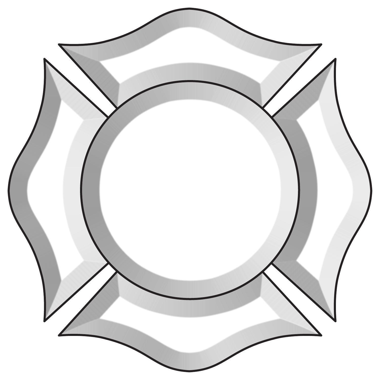 Fireman Badge Bevel Cluster