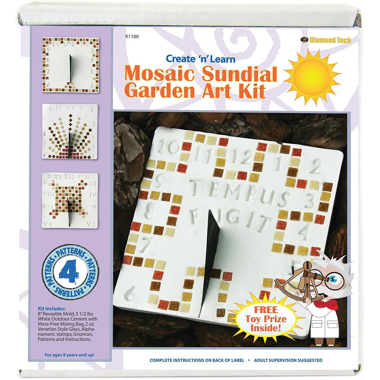 Sundial Garden Art Mosaic Kit