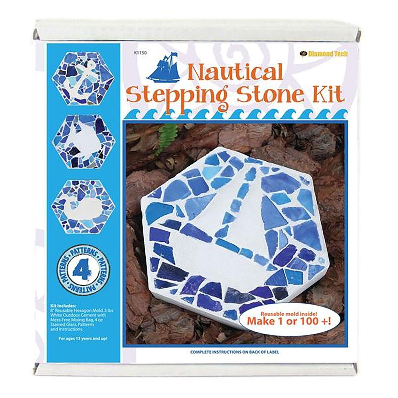 8 Hexagon Nautical Stepping Stone Kit