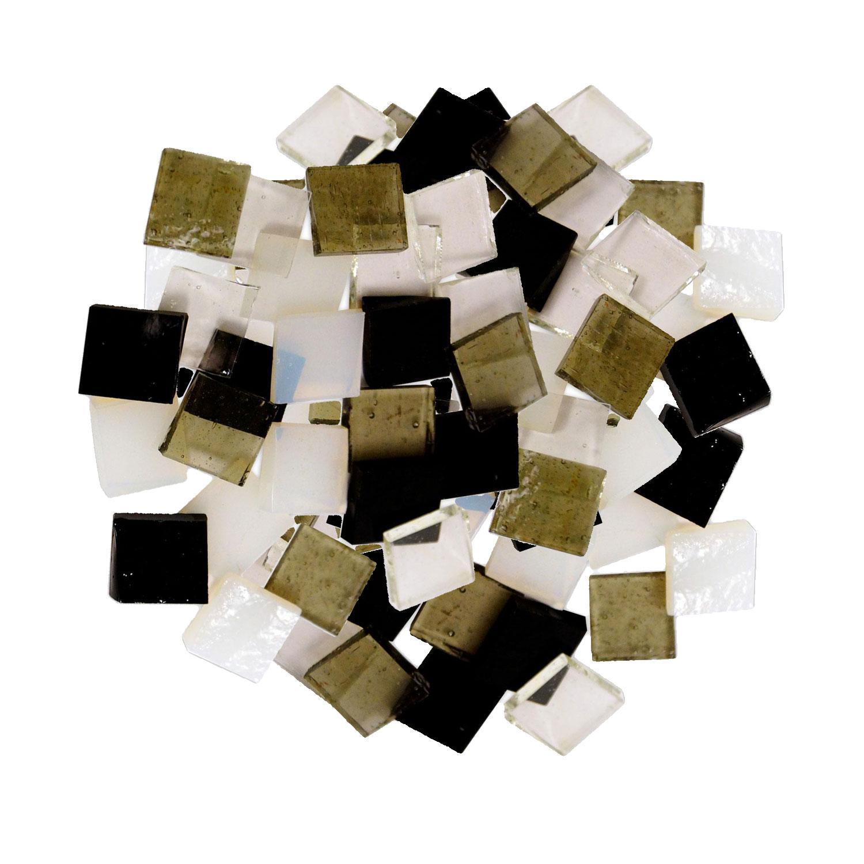 Fuseworks Basic Colors 1/2 Squares 96 Piece Assortment - 90 COE