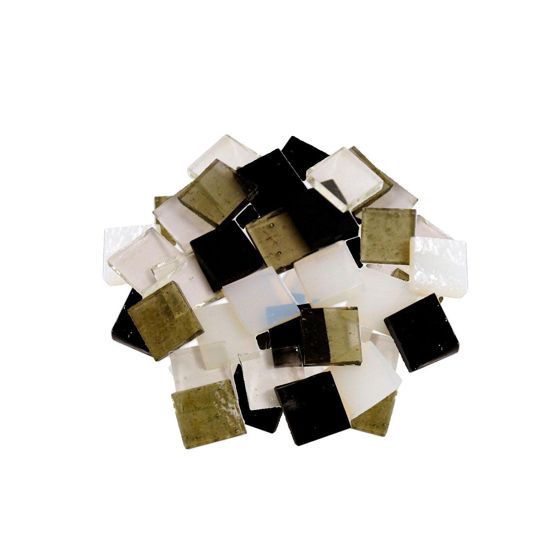 Fuseworks Basic Colors 1/2 Squares 48 Piece Assortment - 90 COE