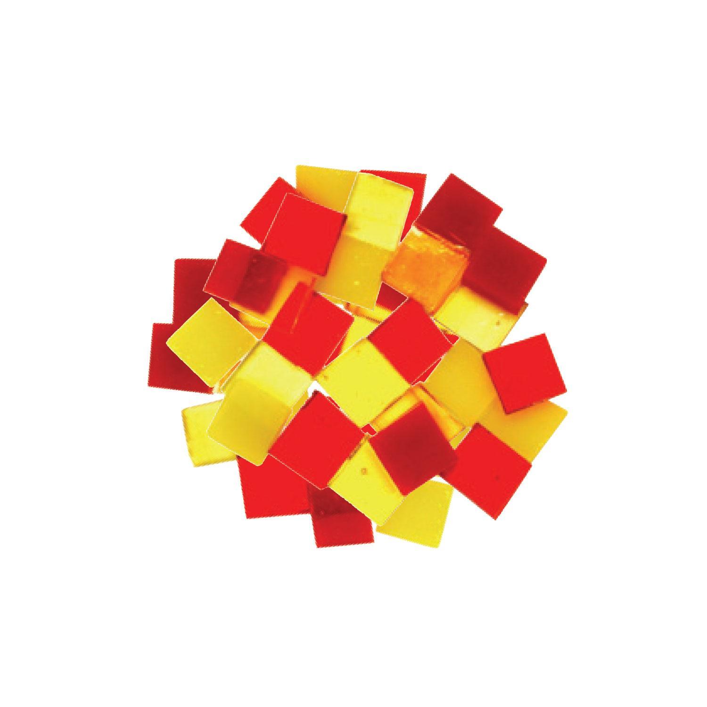 Fuseworks Warm Colors 1/2 Squares 48 Piece Assortment - 90 COE