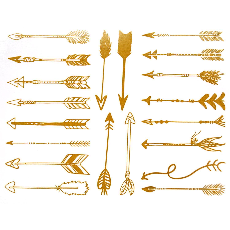 Gold Arrow Decals