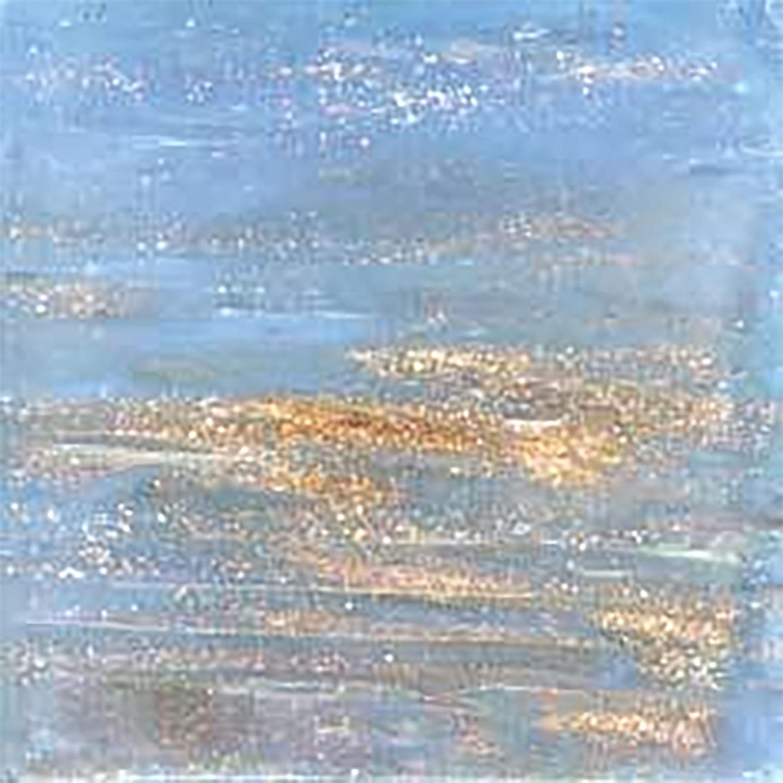 3/8 Heaven Metallic Venetian Glass Tiles - 1 lb