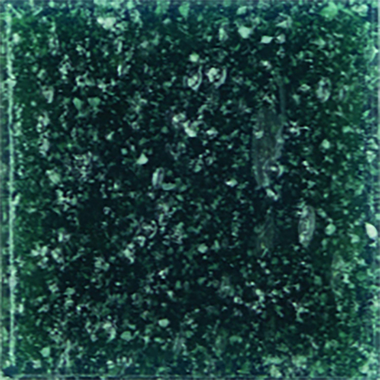 3/8 Peacock Venetian Glass Tile - 2.2 Lb