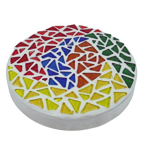 Free Abstract Mosaic Stepping Stone Project Guide
