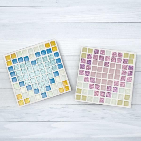 Free 8 Bit Mosaic Sweetheart Coaster Project Guide