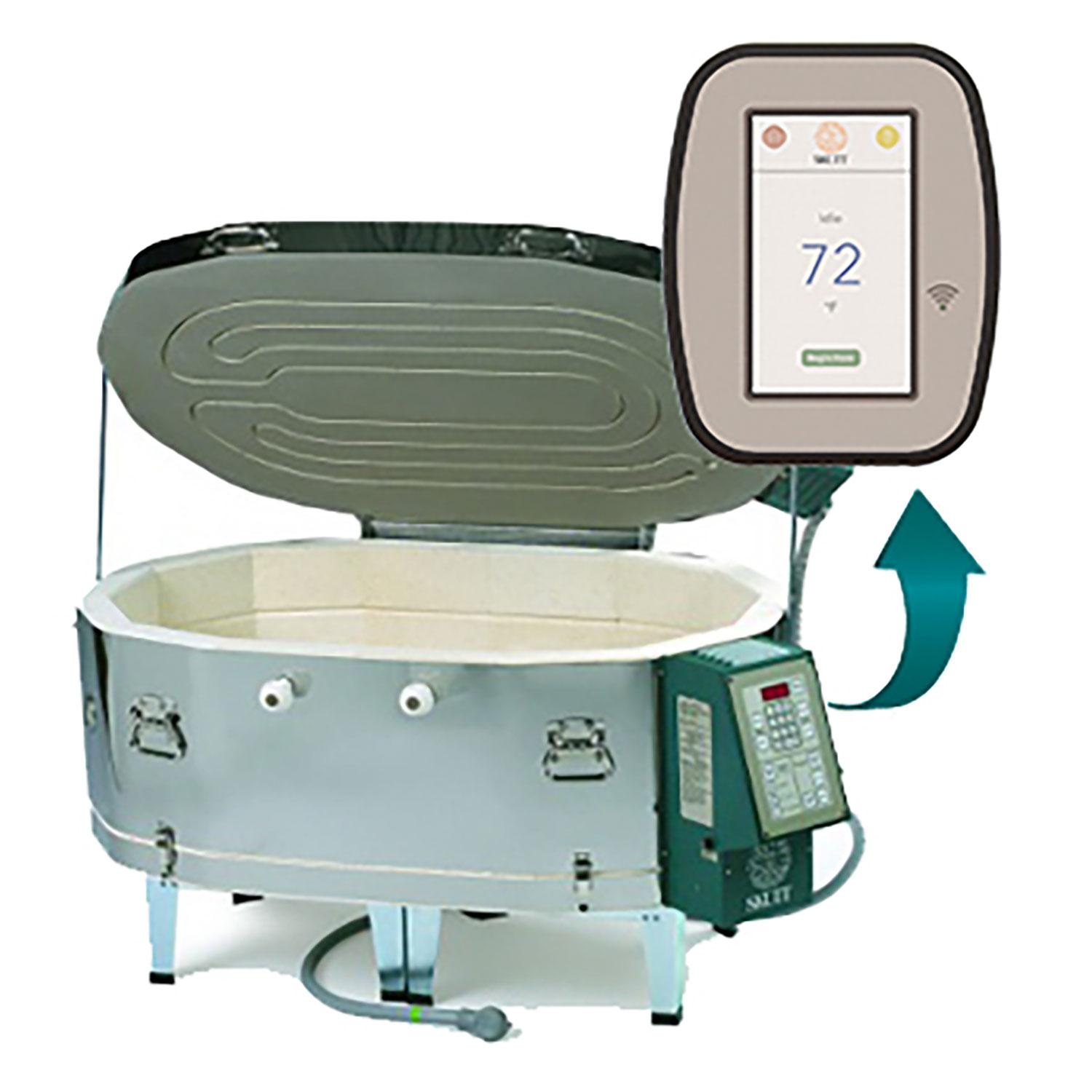 Skutt GM1414 Kiln With Touch Screen Controller And Lid Lifting System