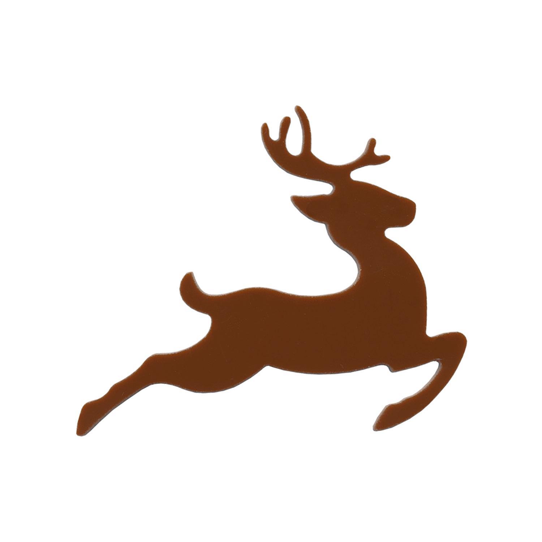 Brown Reindeer Fusible Pre-Cut - 96 COE