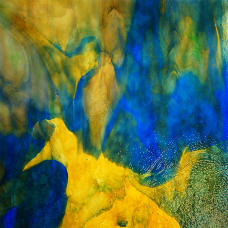 Uro Blue, Yellow, Red, Orange and Pink Granite