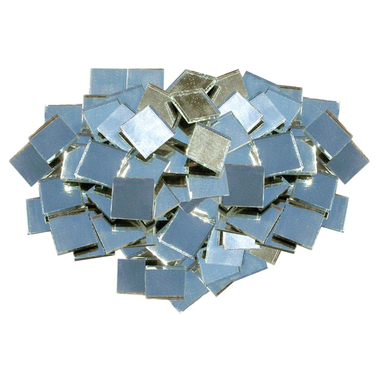 3/4 Square Mirror Tile - 100 Pieces