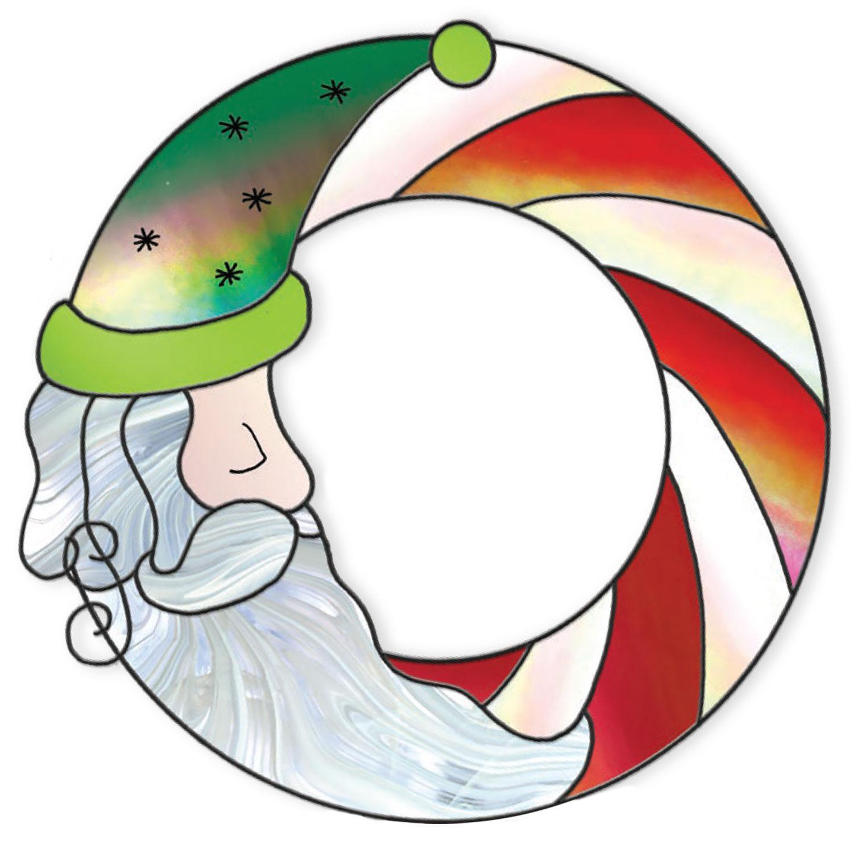 Free Santa Wreath Pattern