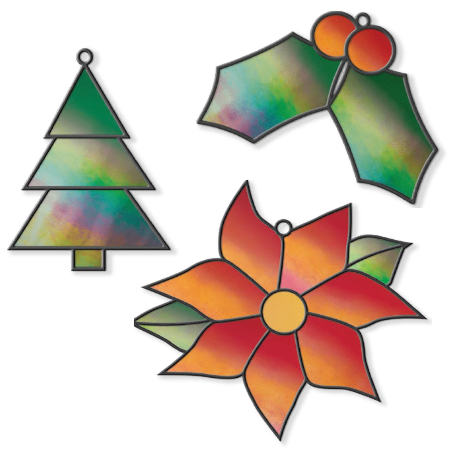 Free Holiday Shimmer Ornaments Pattern