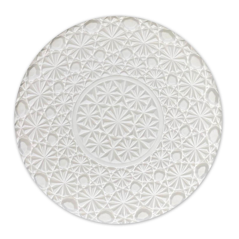 Round Vintage Crystal Texture Mold