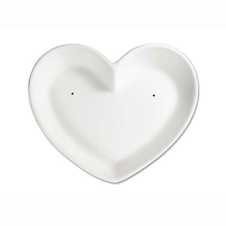 6-1/4 x 5-1/4 Small Heart Dish Mold