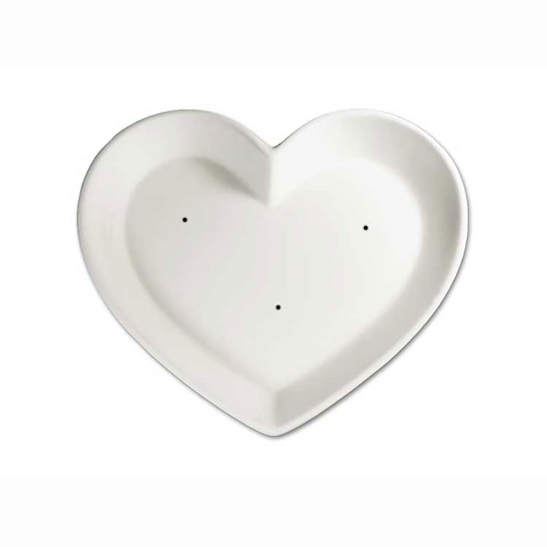 8-1/2 x 7-1/4 Medium Heart Dish Mold
