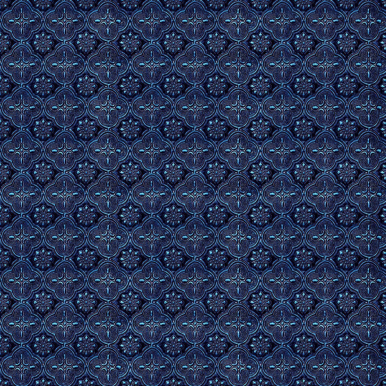 Van Gogh Blue, Violet Sparkle Flora