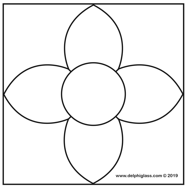 Free Victorian Flower Pattern