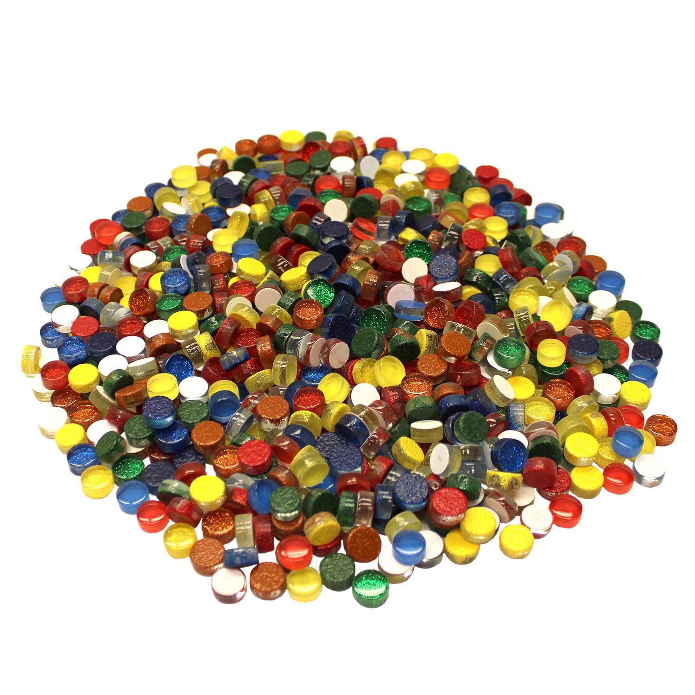 1/2 Round Cobblestones Mini Brights Mix - 3 Lb