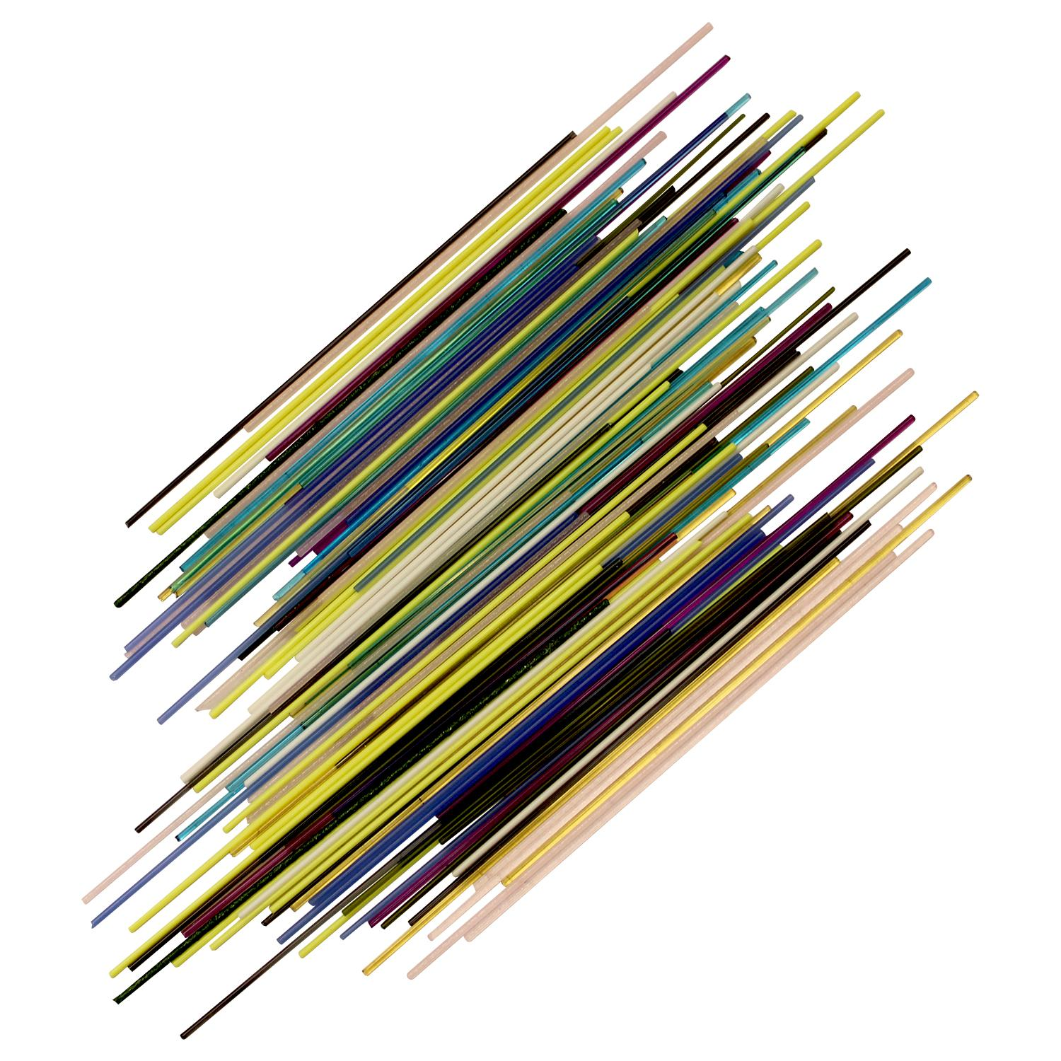 Fuseworks Variety Colors Thin Stringers Assortment, 1-1/2 Oz. Pack - 90 COE