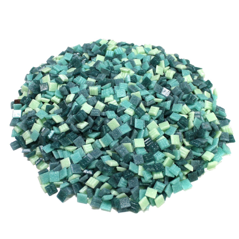 3/8 Nautical Venetian Glass Tile Mix - 3 Lb