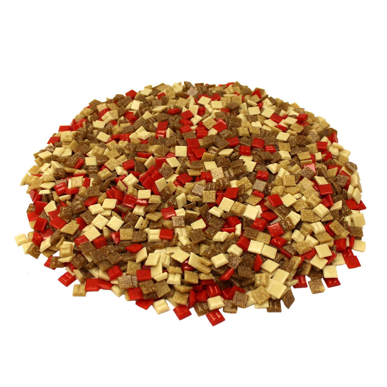 3/8 Desert Glass Venetian Tile Mix - 3 Lb