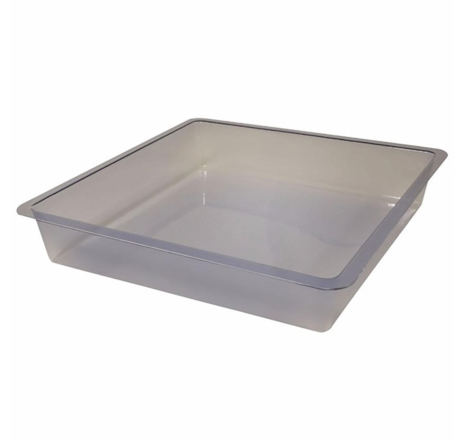 8 Square Clear Stepping Stone Mold