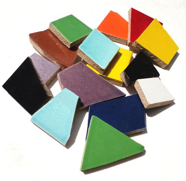 Ceramic Tile Assortment - 1 Lb