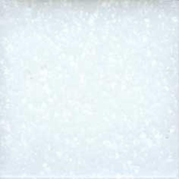 3/4 White Venetian Glass Tile - 1 Lb