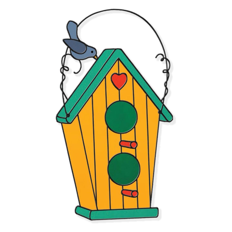 Free Whimsical Birdhouse Pattern